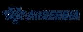 Logo of Air Serbia